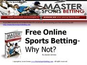 Advantages of Online Sport Betting