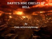 Dante�s nine circles of hell