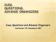 Cues Questions Org.