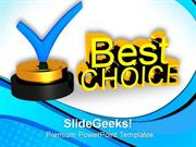 CONSULTING BEST CHOICE CONCEPT PPT TEMPLATE