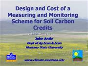 Scheme for Soil Carbon Credits