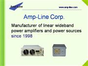 Wideband AC Power Supply & Amplifier