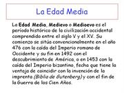 POWERPOINT EDAD MEDIA