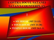 satan's counterplay