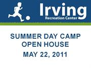 Irving Rec. Center Day Camp Open House 2011