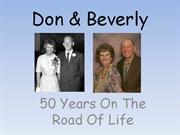 Don & Beverly 50th Anniversary