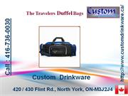 custom drinkware, duffel bags, lunch bags, gift bags