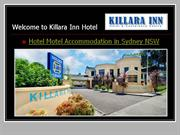 killara inn hotel motel accommodation sydney nsw