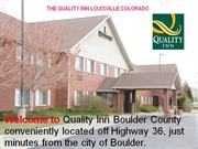 Quality Inn Hotel Louisville Colorad