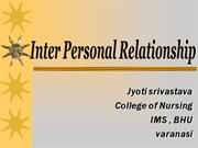 Interpersonal Relationships At Workplace Ppt