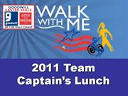 2011 Walk With Me Presentation