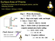 Area of a Prism 2