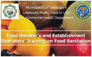 Food Sanitation Training