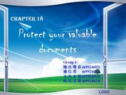 protect your valuable documents