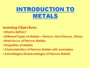 2_INTRODUCTION TO METALS