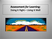 EIL: Formative Assessment