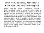 earth techone noida, 9654435045, earth tech one noida office space