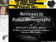 Reviewer in Police Photography.1