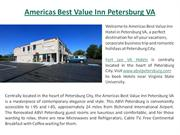Hotel in Petersburg VA, Fort Lee VA Hotels