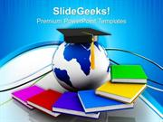 EDUCATION GLOBAL EDUCATION SUCCESS PPT TEMPLATE