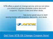 ntb oil change coupons
