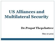 us alliances and multilateral security
