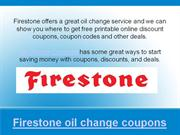 firestone oil change coupons and deals