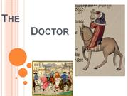 The doctor Canterbury Tales