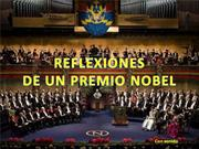 Reflexiones de un Nobel