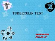 tuberculin test