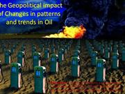 geopolitical impacts of oil