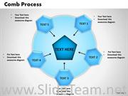 5 Staged Comb Process Diagram