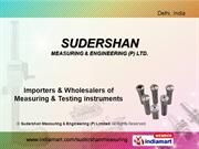 Measuring Instruments By Sudershan Measuring & Engineering Private