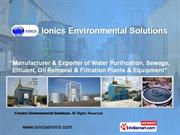 Reverse Osmosis Treatment Plant By Ionics Environmental Solutions
