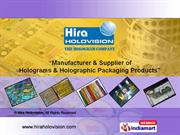 Holographic Tapes And Strips By Hira Holovision Bengaluru