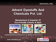 Acid Dyes By Advent Dyestuffs And Chemicals Pvt. Ltd Mumbai