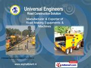 Mechanical Paver Finisher By Universal Engineers Ahmedabad