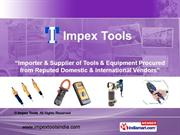 Hand Tools By Impex Tools Pune