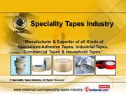 Adhesive Tapes By Speciality Tapes Industry Thane