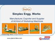 Milling Machine By Simplex Engg. Batala
