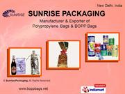 Thermal Bags By Sunrise Packaging New Delhi