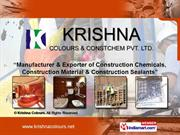 Concrete Admixtures By Krishna Colours Pune