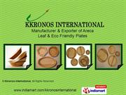 Bio Degradables Plates By Kkronos International Coimbatore