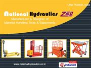 Zed Hand Operated Hydraulic Stacker By National Hydraulics Noida