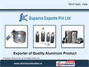 Aluminum Canisters With Screw On Lids By Suparna Exports Pvt Ltd