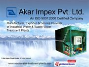 Sewage Treatment Plants By Akar Impex Private Limited Noida