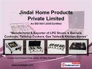 Single Burner Gas Stove By Jindal Home Products Private Limited.