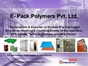 Telecom Shelters By E- Pack Polymers Private Limited Greater Noida