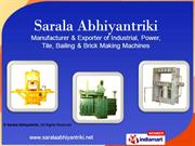 Paver And Tile Machine By Sarala Abhiyantriki Indore