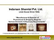 Designer Jute Bag by Indarsen Shamlal Pvt. Ltd. (Jute House Since 1948